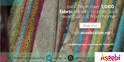 Asoebi and online platform for fabrics